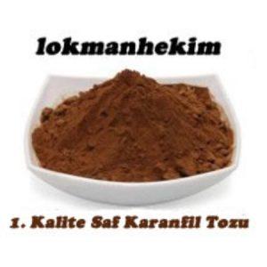 1. Kalite Karanfil Tozu 50gr