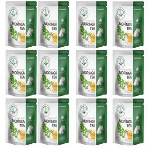 12 Paket Moringa Tea-Moringa Çayı-Moringa Tea Superfoods Orjinal