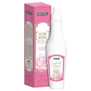 2 ADET - Aksu Vital %100 Saf Gül Suyu - Rose Water 250 ml