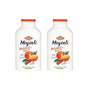 2 ADET - Otacı meyveli Portakal & Tarçın Şampuan 400 ml