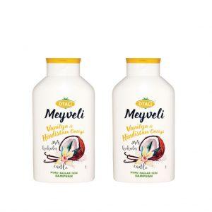 2 ADET - Otacı meyveli Vanilya & Hindistan Şampuan 400 ml