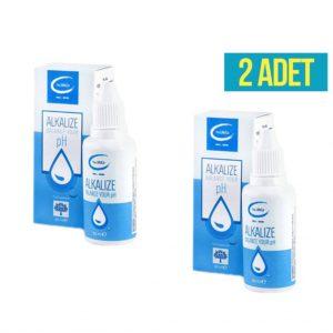 2 ADET The Lifeco Alkalize pH Su Damlası 30 ml (Alkali)