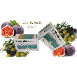 7 Zeytin (Yaprak) 1 İncir (Meyve) Bitkisel Karışım - 60 Tablet