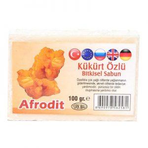Afrodit Kükürtlü Sabun 100Gr - Doğal Bakım Ürünleri