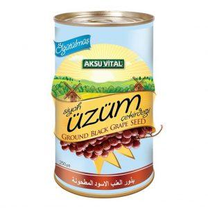 Aksu Vital Öğütülmüş Üzüm Çekirdeği Tohumu 250 g