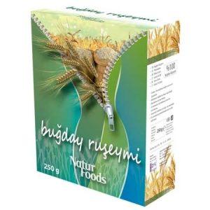 Doğal Katkısız Buğday Ruşeymi Natur Foods 250 GR