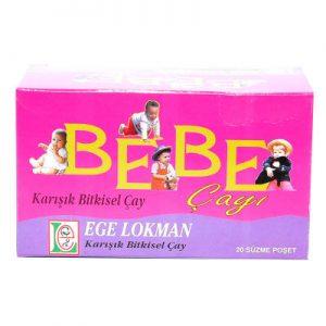 Ege Lokman Bebe Çayı 20 Süzen Pşt - Doğal Bitki Çayları