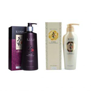 Ki Gold Premium Şampuan + Ki Gold Saç Kremi ( 2'li Set )