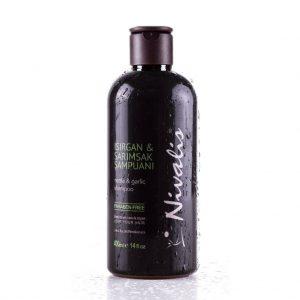Nivalis Isırgan & Sarımsak Şampuanı - 400 Ml - Paraben İçermez