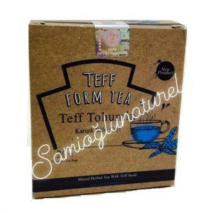 Nurs Lokman Hekim Teff Tohumlu Bitkisel Çay Tef Teff Tohumu Çayı