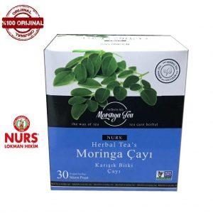 Nurs Orjinal Moringa Çayı (Tea) 30 Süzen Poşet Hologramlı Orjinal