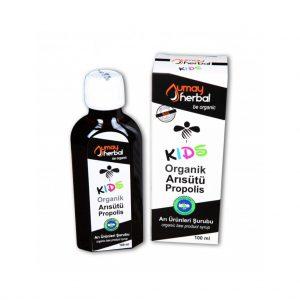 Organik Kids Şurup - 100 ml Arı Sütü-Propolis