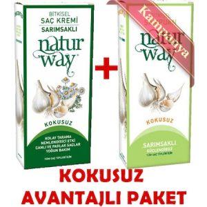 Otacı-Naturway 2'li Avantaj Paketi-Sarımsak Özlü Şampuan ve Krem