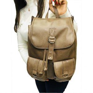 Özel Dikim Ayarlanabilir Bayan sırt ve el çantası
