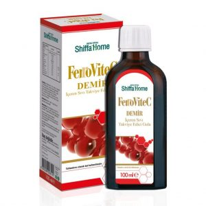 Shiffa Home Ferrovitec Demir şurubu 100 ML