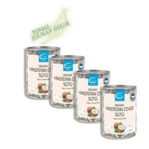 The Lifeco Organik Hindistan Cevizi Sütü x 4