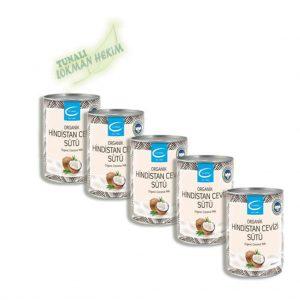 The Lifeco Organik Hindistan Cevizi Sütü x 5