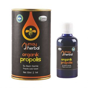 Umay Herbal Organik Propolis Damla (Su Bazlı) 50ml
