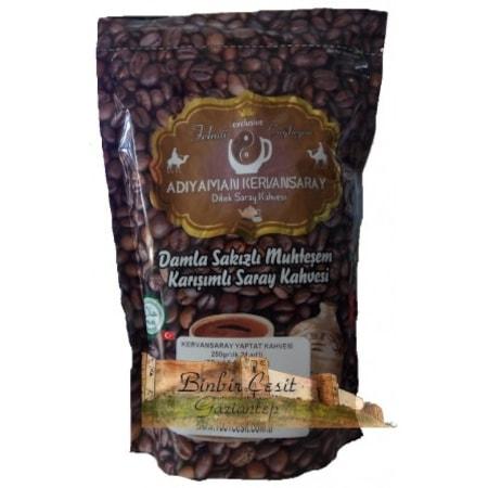 1 Paket 250 Gram Adıyaman Kervansaray Damla Sakızlı Dibek Kahvesi