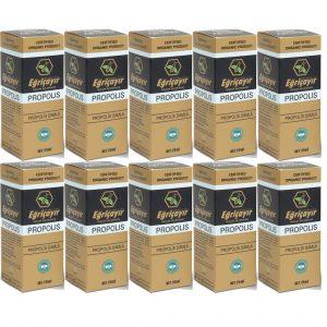 10 Kutu Eğriçayır Organik Sıvı Propolis 20 ML (Su Bazlı)