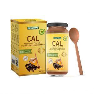 2 ADET Aksu Vital CAL Macunu Keçiboynuzu Pekmezi & Arı Sütü