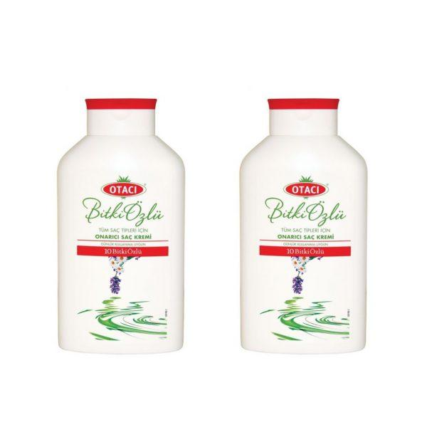 2 ADET - Otacı 10 on Bitki Özlü Saç Kremi 400 ml