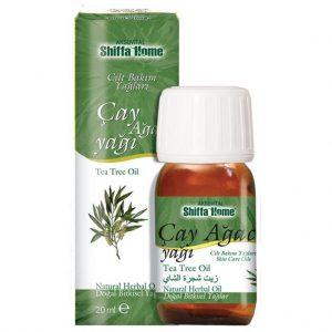 2 Adet - Shiffa Home Çay Ağacı Yağı 20ml - Tea Tree Oil