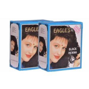 2 Kutu (12 Adet) Eagles Hint Kınası Black - Siyah