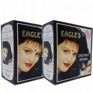 2 Kutu (12 Adet) Eagles Hint Kınası Cestnut (Kestane)