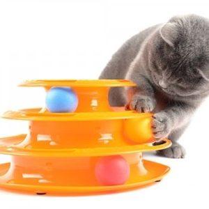 3 Katlı Kedi Oyuncağı Tower of Tracks Yurtdışı Sipariş