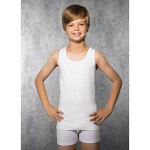 6'lı Paket Tutku Penye Erkek Çocuk Atlet Western Union Ödeme