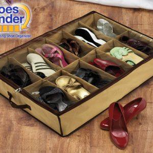 Shoes Under 12&#39li Ayakkabı Saklama Hurcu Hızlı Gönderim
