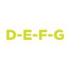 D-E-F-G