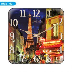 Galaxy D-1978-02 Paris Kare Bombeli Cam Saat Hızlı Gönderim