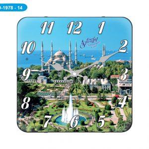 Galaxy D-1978-14 Sultan Ahmet Camii Bombeli Cam Saat Hızlı Kargo