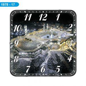 Galaxy D-1978-17 Mekke Bombeli Cam Saat Hızlı Kargo