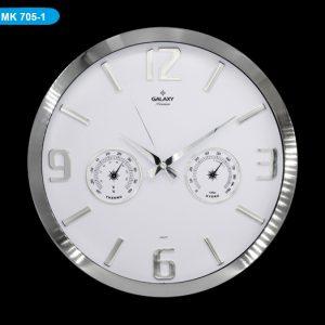 Galaxy MK705-1 Premium Termometreli Duvar Saati Hızlı Kargo