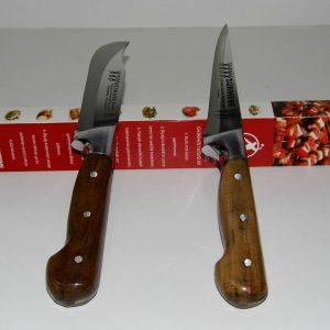 Sürmene Tarihi El Dövme Çelik Bıçak 2 li Set Avrupa Satış