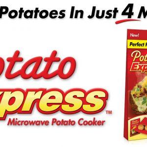 Potato Expres Kumpir Yapma Torbası (Sınırsız Kullanım) Avrupa Sipariş