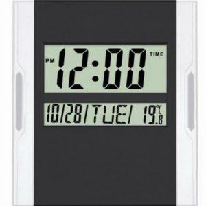KENKO KK-3886 Dijital Duvar ve Masa Saati - Takvim - Termometre Money Gram Ödeme