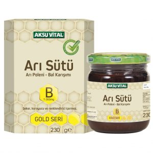 Aksu Vital Bal Polen Arı Sütü Macunu Karışımı 220 Gram