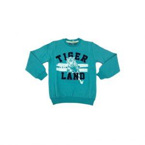 Almi Kids Tiger Kışlık Şardonlu Erkek Çocuk Sweatshirt Uçak Kargo