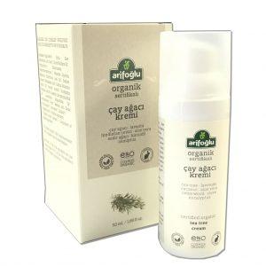 Arifoğlu Organik Çay Ağacı Kremi 50 ML Vegan