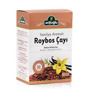 Arifoğlu Roybos Vanilya Çayı Kırmızı Çay 40'lı x 2 Kutu