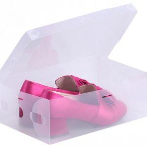 Şeffaf Ayakkabı Kutusu Bayan (2 Adet) Yurtdışı Sipariş