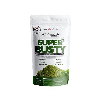 Super Busty Bitkisel Takviye Edici Gıda 100 GR