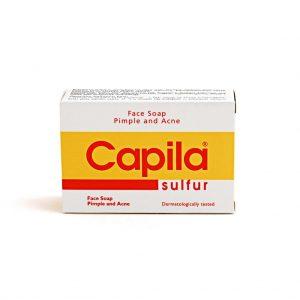 Capila Kükürt Sabunu - Sivilce ve Akneye Karşı Saç ve Vücut Sabun