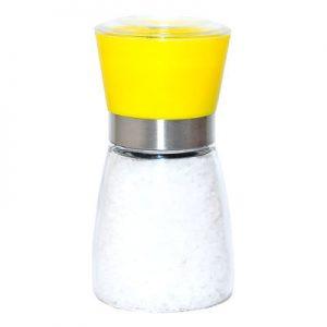 Çiftçiler Tuz Karabiber Değirmeni Sarı Çankırı Tuzu 200Gr Hediyeli