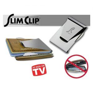 Slim Clip Çelik Para ve Kredi Kartı Cüzdanı Ria Express Ödeme