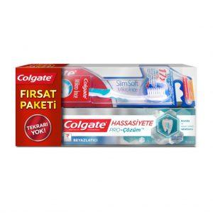 Colgate Hassas Dişlere PRO-Çözüm Beyazlatıcı 75 ml + Diş Fırçası